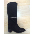 OEM Hot-Sale Low Heels Lady Fashion PU Bottes